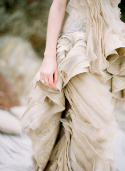 Intricate Sea Life Inspired Wedding Dresses By Vivian Luk ...