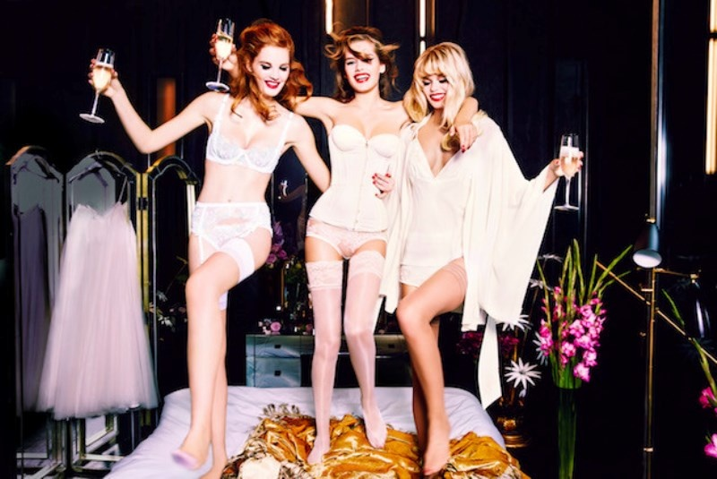 Picture Of irresistibly sexy bridal lingerie collection by agent provocateur  1