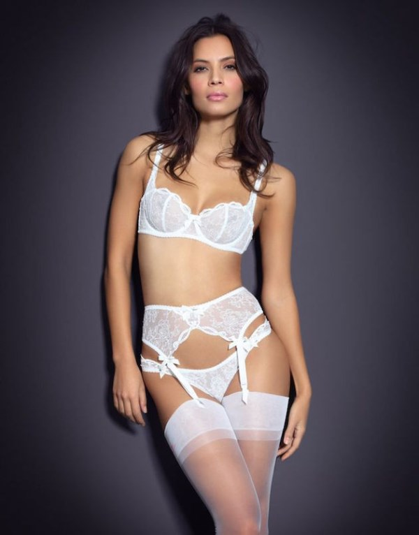 Picture Of irresistibly sexy bridal lingerie collection by agent provocateur  14