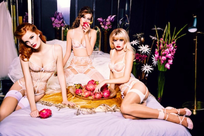 Picture Of irresistibly sexy bridal lingerie collection by agent provocateur  2