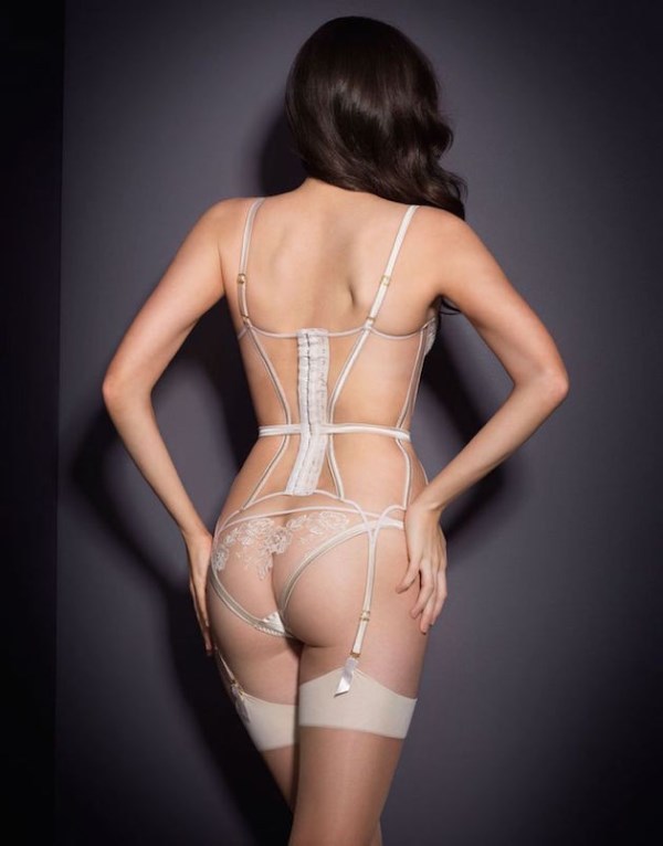 ec6317c50ebf2 Picture Of irresistibly sexy bridal lingerie collection by agent  provocateur 6
