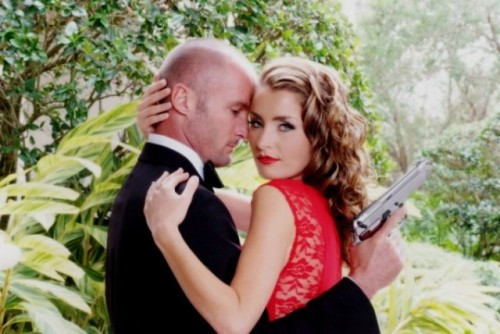 James Bond Themed Anniversary Shoot