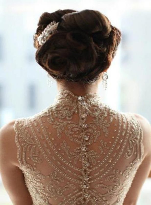 Picture Of Jaw Dropping Statement Back Wedding Dresses