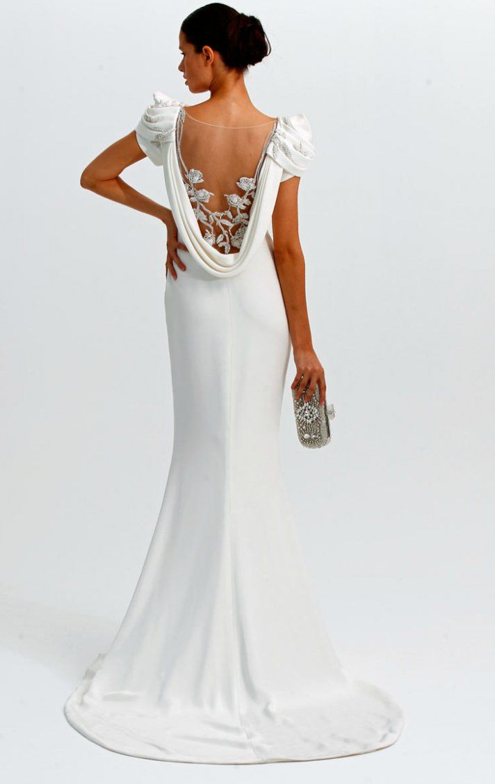 Statement Back Wedding Dresses