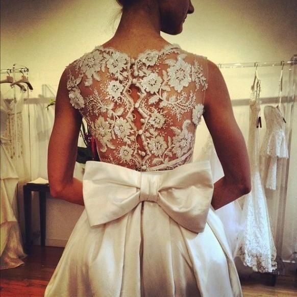 Jaw Dropping Statement Back Wedding Dresses