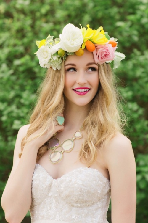Joyful And Bright Summer Citrus Wedding Inspiration