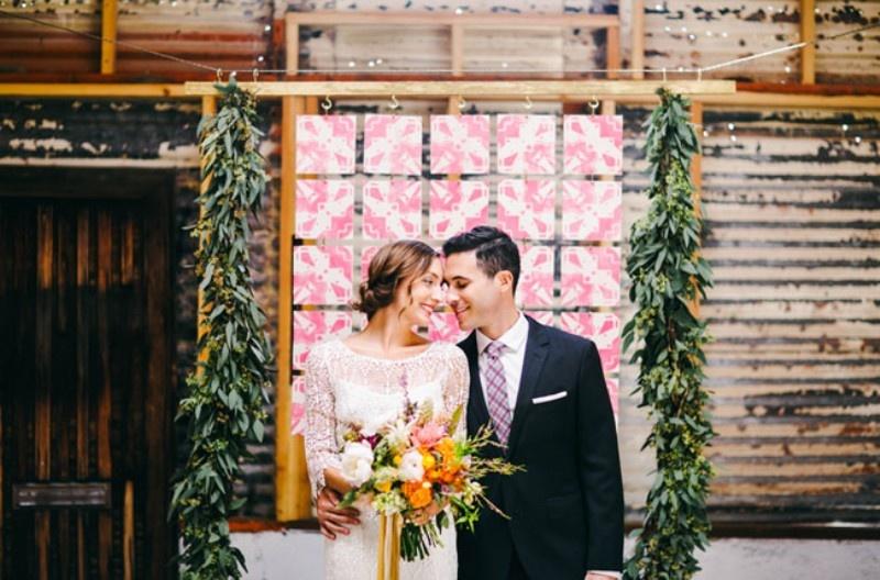 Picture Of joyful industrial playground elopement wedding inspiration  1