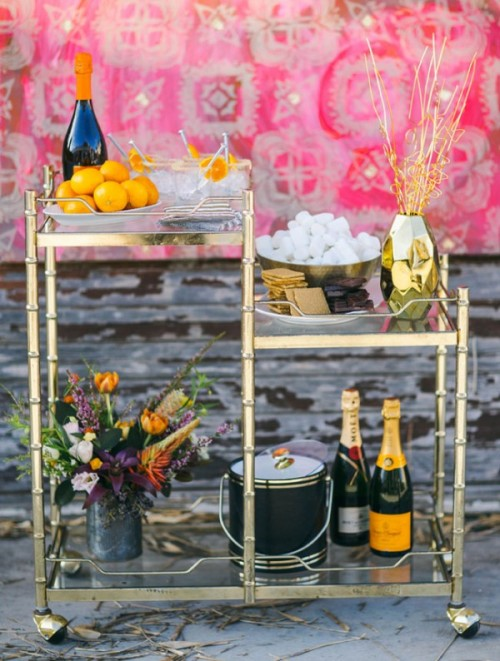 Joyful Industrial Playground Elopement Wedding Inspiration