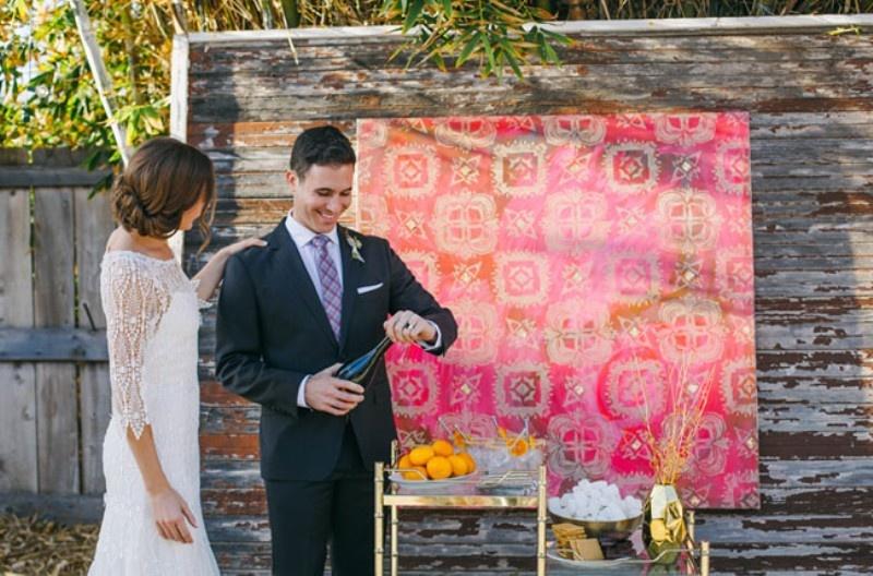 Picture Of joyful industrial playground elopement wedding inspiration  16