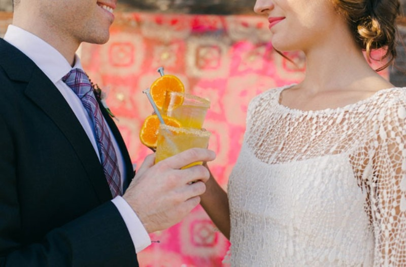 Picture Of joyful industrial playground elopement wedding inspiration  17