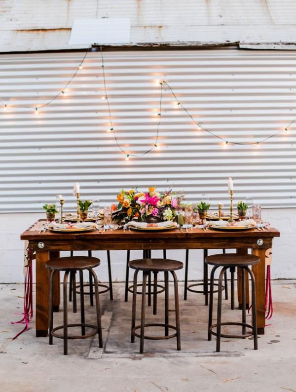 Picture Of joyful industrial playground elopement wedding inspiration  18