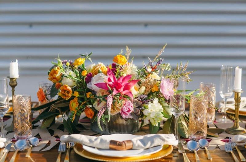 Picture Of joyful industrial playground elopement wedding inspiration  19