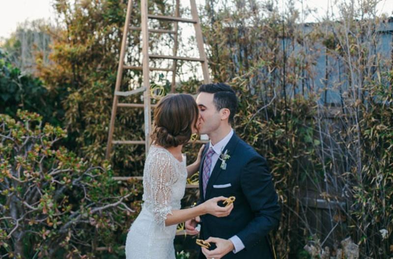Picture Of joyful industrial playground elopement wedding inspiration  29