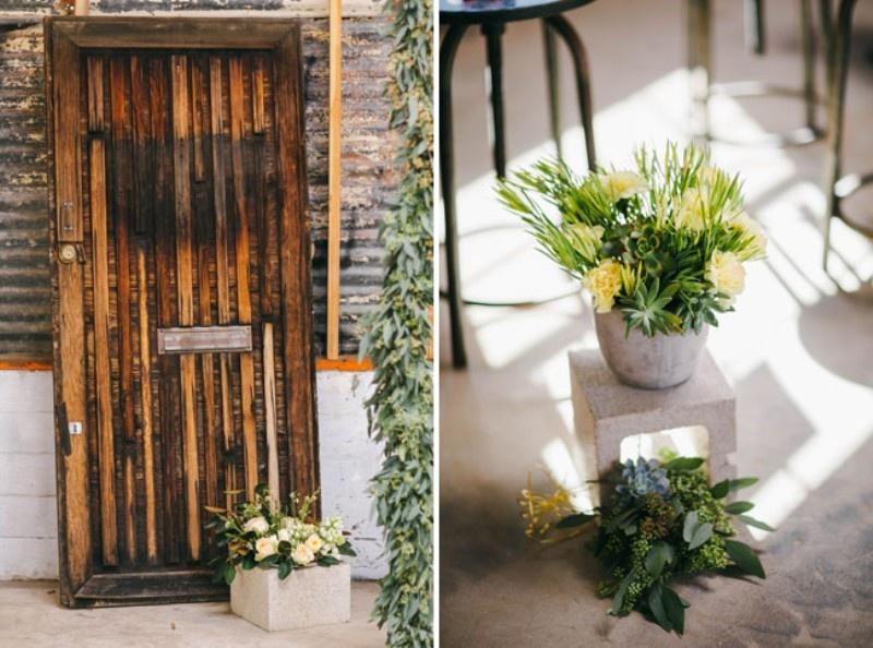 Picture Of joyful industrial playground elopement wedding inspiration  4