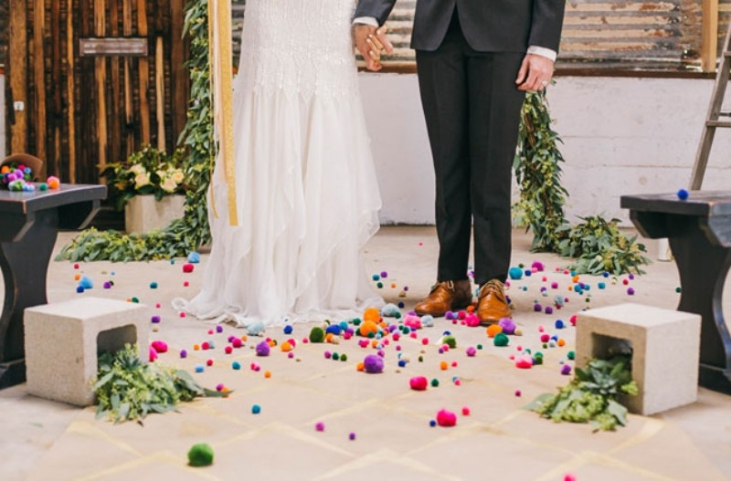 Picture Of joyful industrial playground elopement wedding inspiration  9