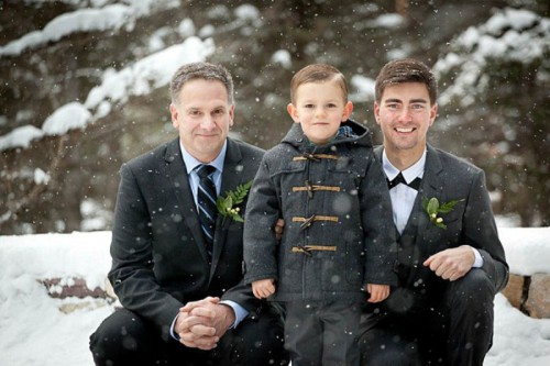 Lake Louise Ski Resort Winter Wedding With Woodland Details