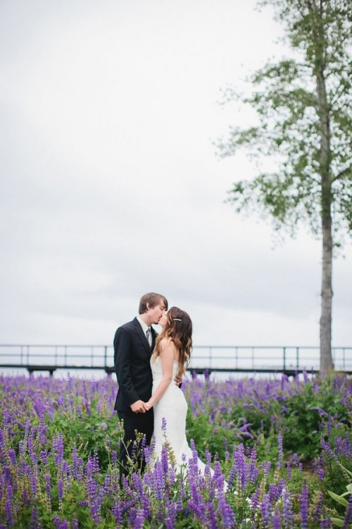 Lake Tahoe Rainy Day Wedding With Rustic Touches