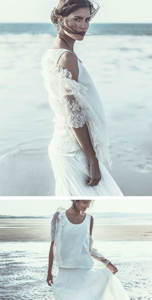 Laure De Sagazan 2014 Bridal Collection With Airy Silhouettes