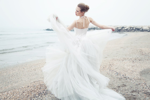 picture of light and airy domo adami wedding dresses