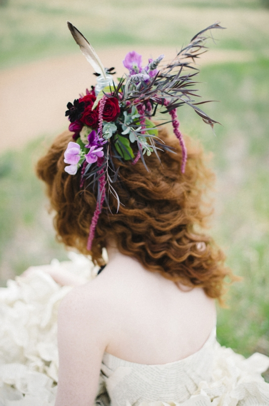 Literary Inspired Wedding With A Book Page Wedding Dress