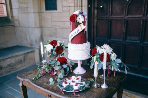 Love Letter Themed Wedding With An Intense Red Color Palette