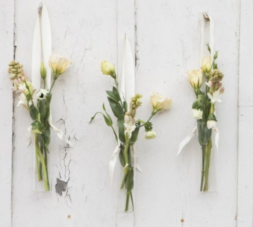 Lovely DIY Hanging Floral Vases For Your Wedding Decor