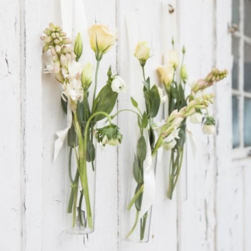 Lovely Diy Hanging Floral Vases For Your Wedding Decor