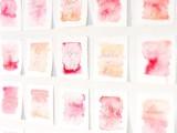 lovely-diy-watercolor-wedding-escort-cards-2