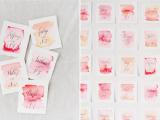 lovely-diy-watercolor-wedding-escort-cards-3
