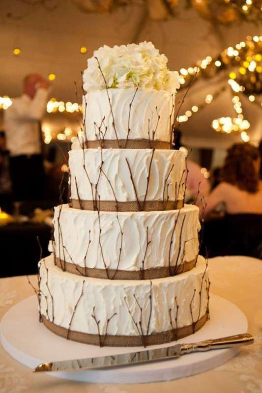 Picture Of Lovely Rustic Inspired Country Wedding Cakes 10