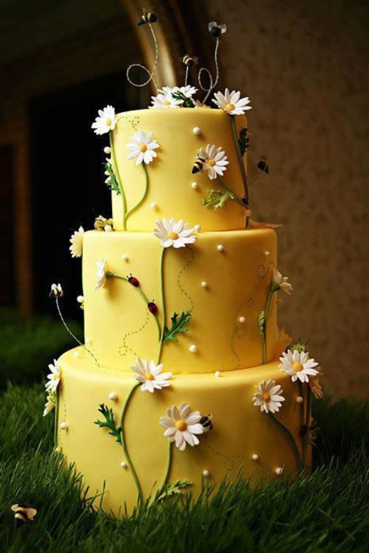 35 Lovely Rustic-Inspired Country Wedding Cakes - Weddingomania