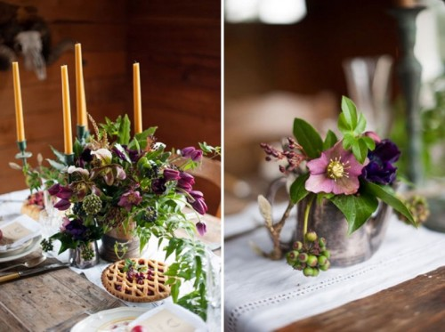 Lovely Rustic Winter Wedding Inspirational Shoot
