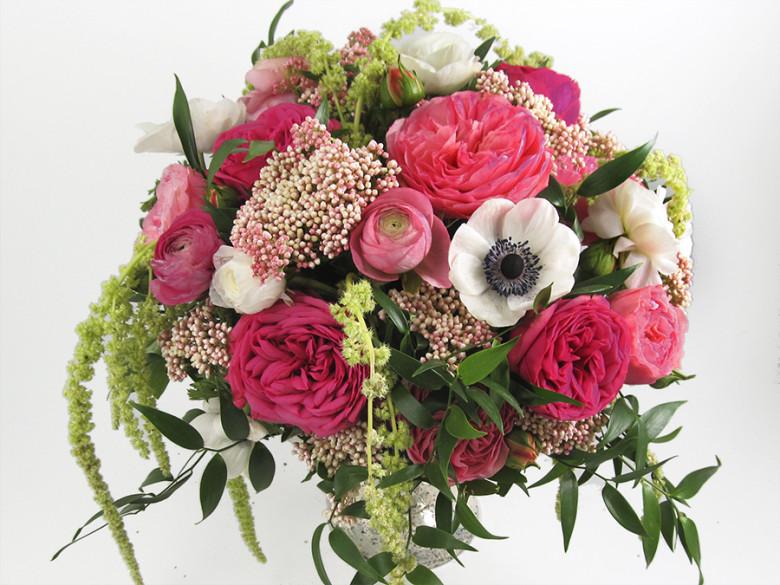 Lush Diy Anemone Wedding Centerpiece