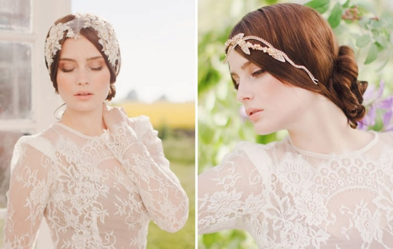 Luxurious And Delicate Headpieces 2014 Collection By Jannie Baltzer