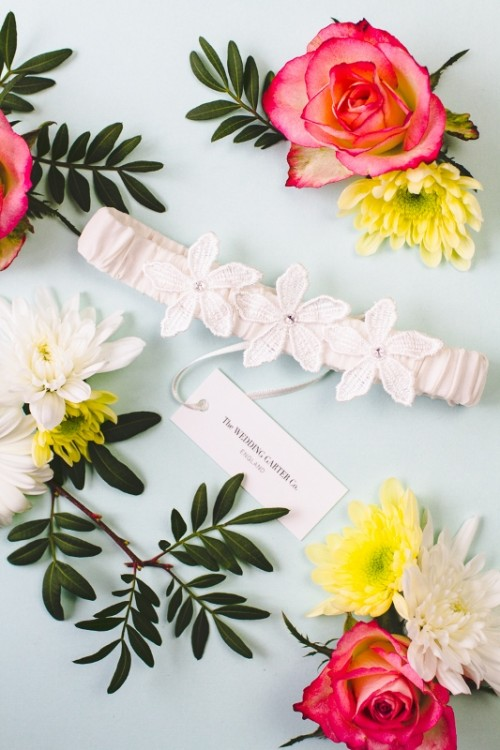 Luxurious And Pretty Bridal Garters From The Wedding Garter Co