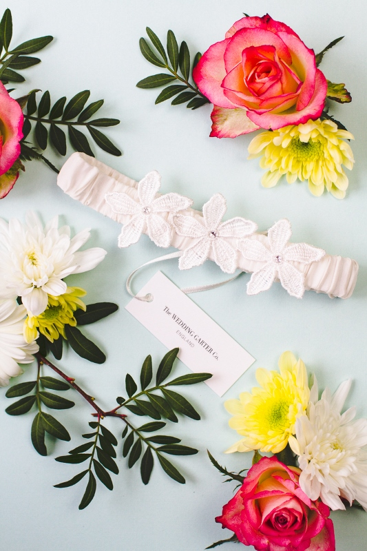 Picture Of luxurious and pretty bridal garters from the wedding garter co  3