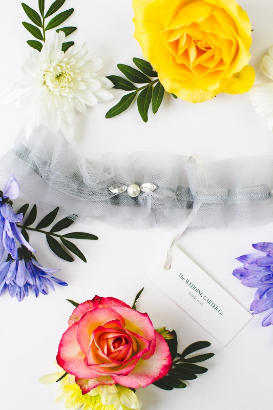 Picture Of luxurious and pretty bridal garters from the wedding garter co  4
