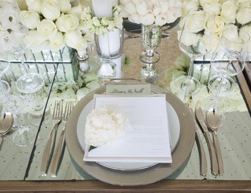 Luxurious And Timelessly Elegant White Winter Wedding