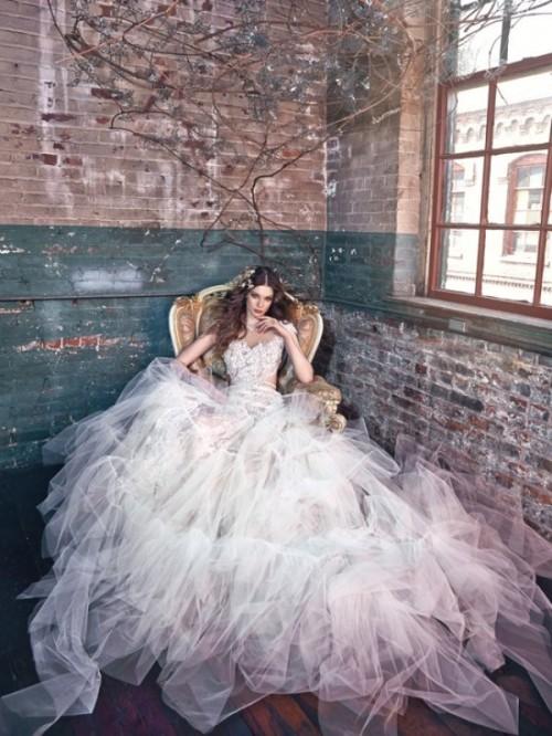 Luxurious Galia Lahav 2016 'Les Reves Bohemian Collection'