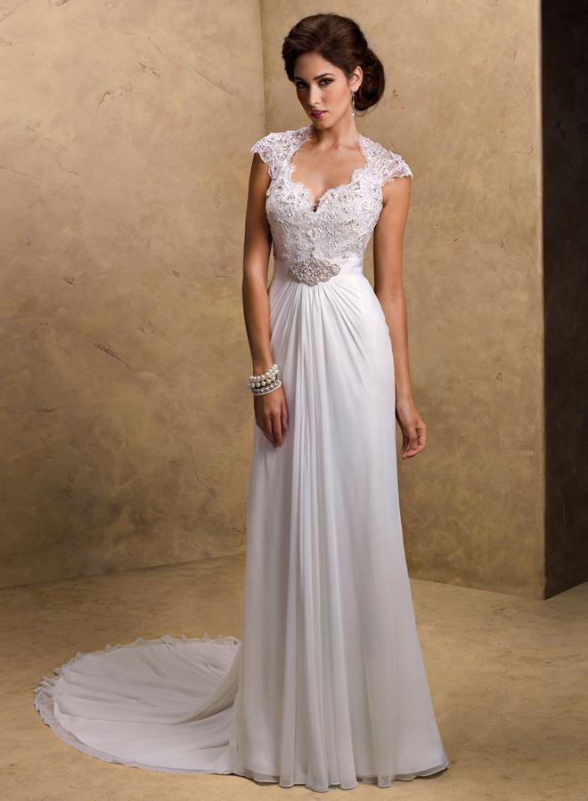 Свадебное платье прямое в пол
