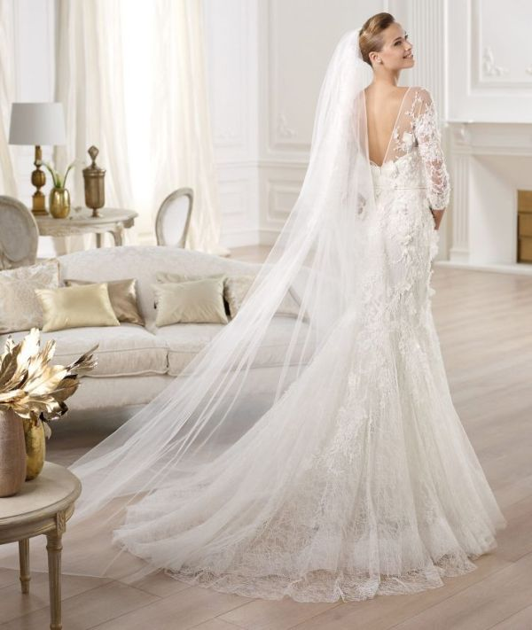 Magnificent And Elegant Elie Saab 2014 Bridal Dresses Collection ...