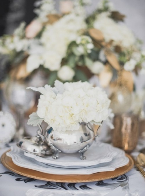 Magnificent Royalty Themed Winter Wedding Inspiration