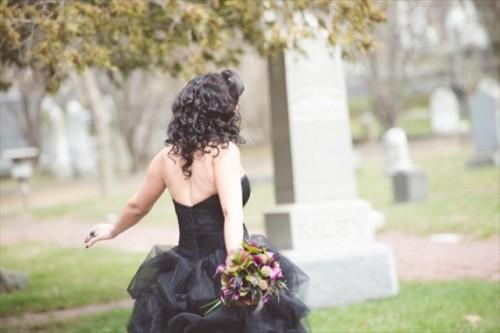 Maleficent Wedding Fantasy Shoot