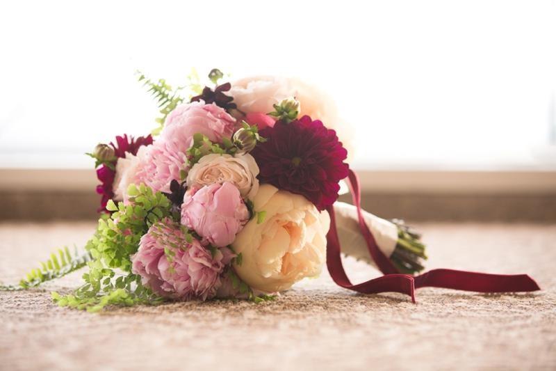 Picture Of marsala tuscany inspired wedding inspiration  1