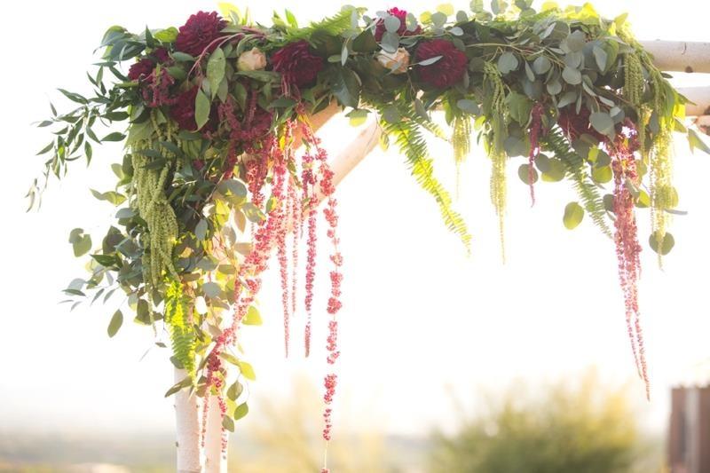 Picture Of marsala tuscany inspired wedding inspiration  11