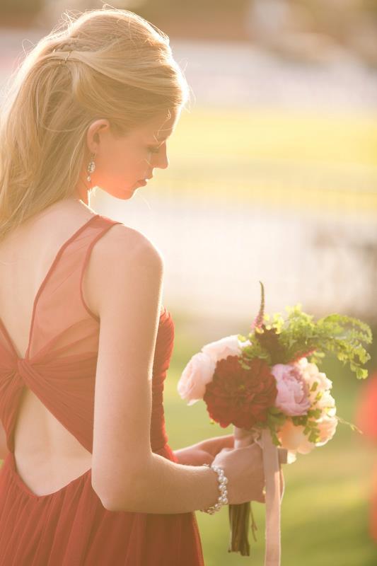 Picture Of marsala tuscany inspired wedding inspiration  12