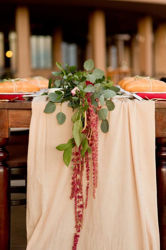 Picture Of marsala tuscany inspired wedding inspiration  15