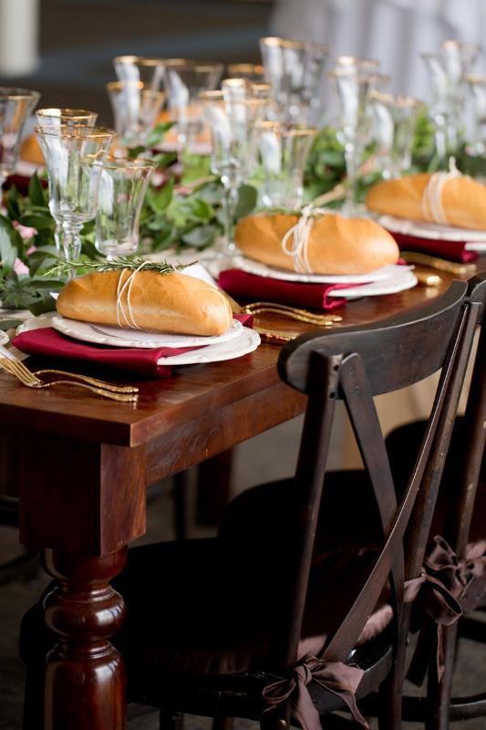 Picture Of marsala tuscany inspired wedding inspiration  19