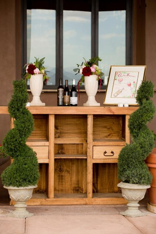Picture Of marsala tuscany inspired wedding inspiration  20