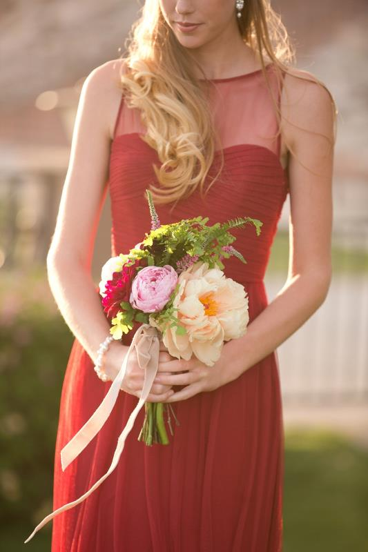 Picture Of marsala tuscany inspired wedding inspiration  6